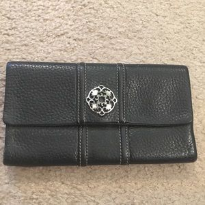 Brighton Black Leather Wallet